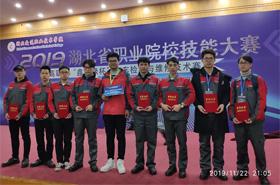 汽车与材料工程学院获2019年湖北省职业院校技能大赛二等奖