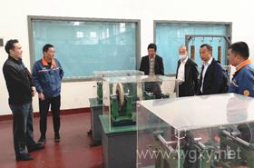 机电工程学院骨干教师赴企业研讨产教融合实训室建设方案