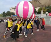土木工程学院举办第二届趣味运动会