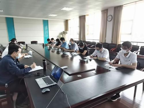 学院领导带队赴江北公司对接校企合作事宜